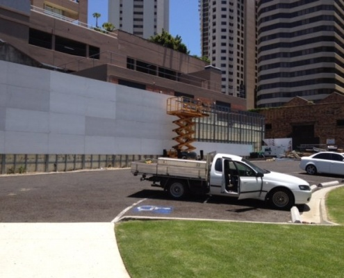 Brisbane CFC Curtain Wall