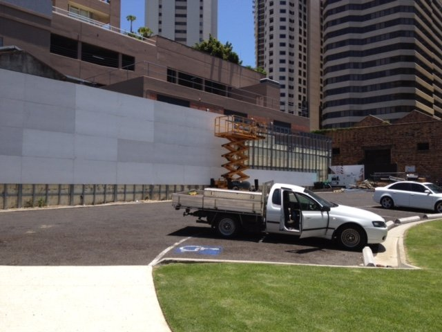 Brisbane CFC Curtain Wall
