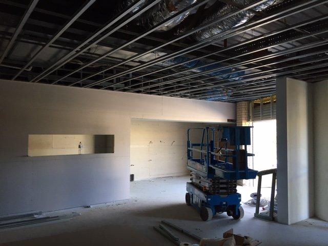 Daisy Hill Cafe Construction